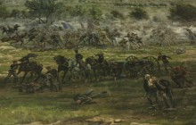 The Gettysburg painting that put Fuquay-Varina on the map by Lynanne Fowle