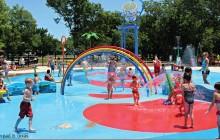 The new Splash Pad in Fuquay-Varina