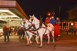 Christmas Tree Lighting and Sleigh Ride, Downtown Fuquay-Varina, 12-3-2015